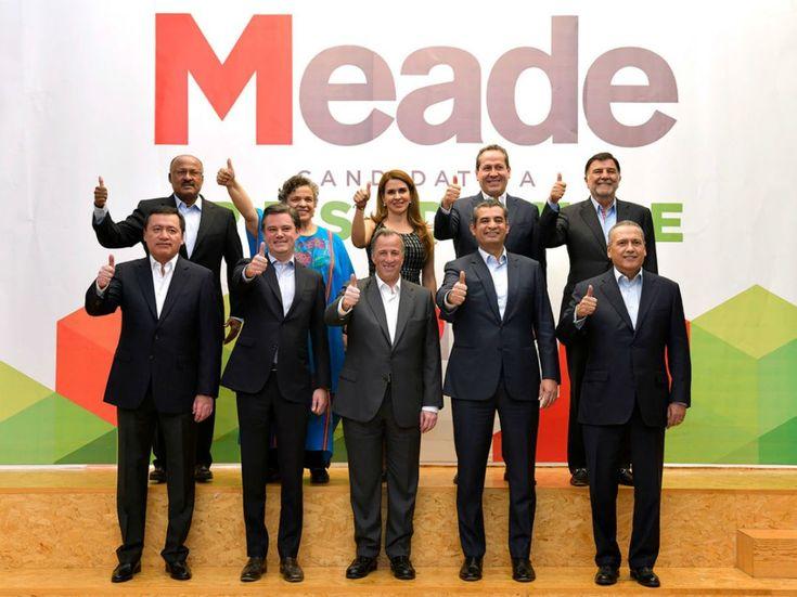 Meade suma a Osorio, Beltrones y Paredes a su campaña | El Puntero