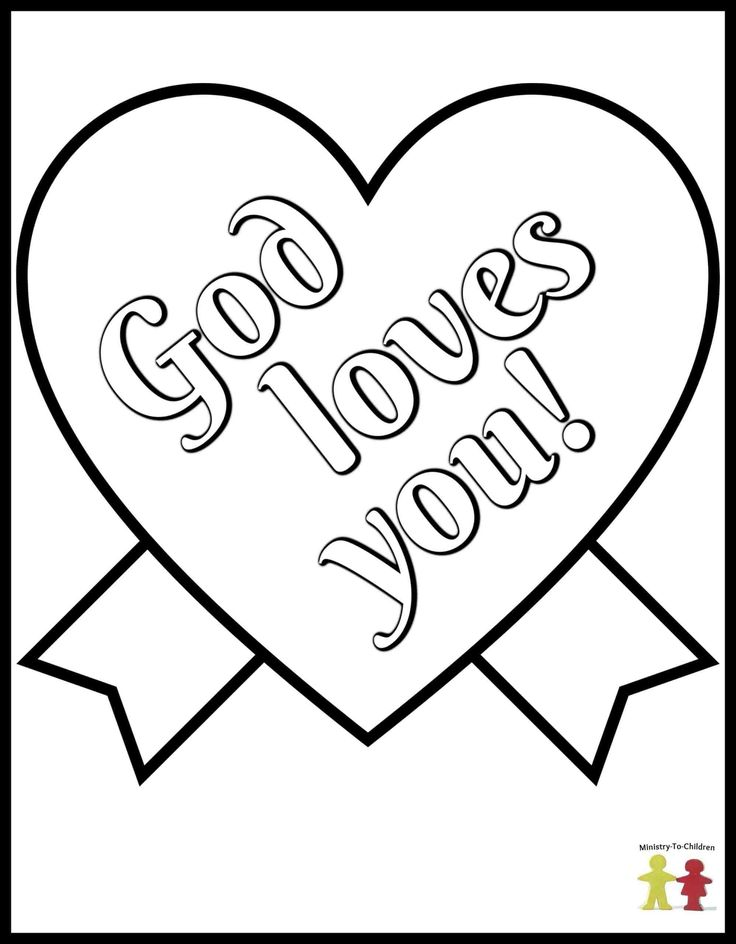 49++ Christian coloring pages for valentines day info