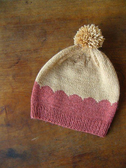 scalloped hat