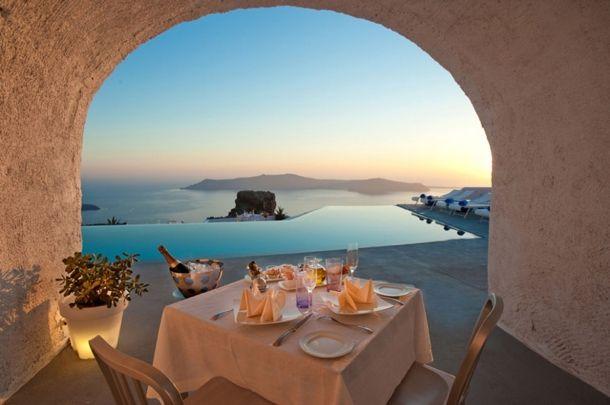 Santorini Hotel, Greece