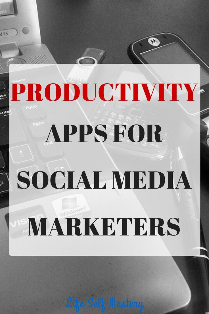 9 Productivity apps for Social media marketers which are essential to get more work done. Click through to learn more!