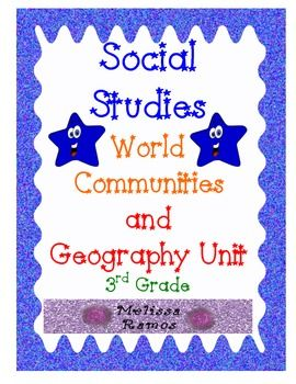This is what I use to help me plan for Unit 1 of my 3rd Grade Social Studies curriculum.  This set includes: -Essential Questions -Guiding Questions -Skills -Center tasks -Vocab list -CCSS -Charts -A geography and map skills test -Answer key is included  Enjoy, Melissa Ramos  Disclaimer:  In no way is this meant to replace all of the materials provided to you by TC, including their books and CDs, but this is meant to be a strong supplement to provide teacher support while teaching TC units.