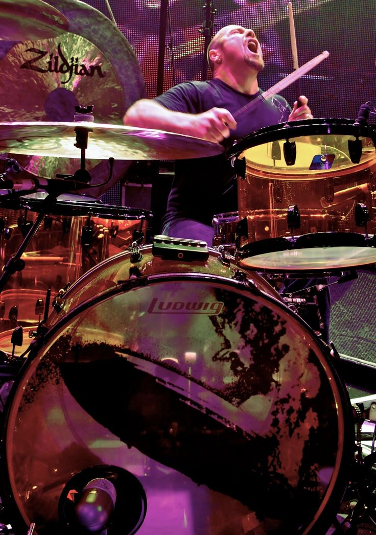 Jason Bonham son of the late John Bonham of Led Zepplin
