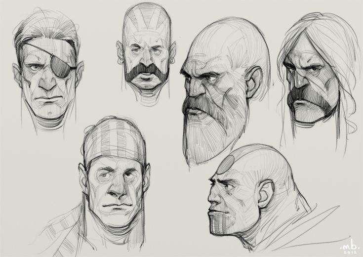 Borislav Mitkov - Illustration/Concept Art: Daily sketch #9