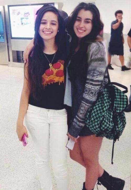 Camila Cabello and Lauren Jauregui Fifth Harmony