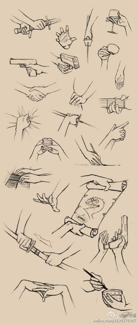 GREAT SKETCHES OF HAND POSITIONS http://www.duitang.com/people/mblog/21893799/detail/