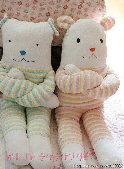 Ideas para el hogar: Muñecos con moldes de costura