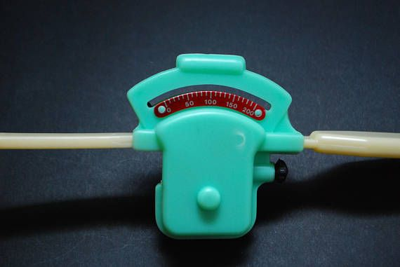 Unique Weigh Balance Scale Made of Plastic Very Rare Vintage