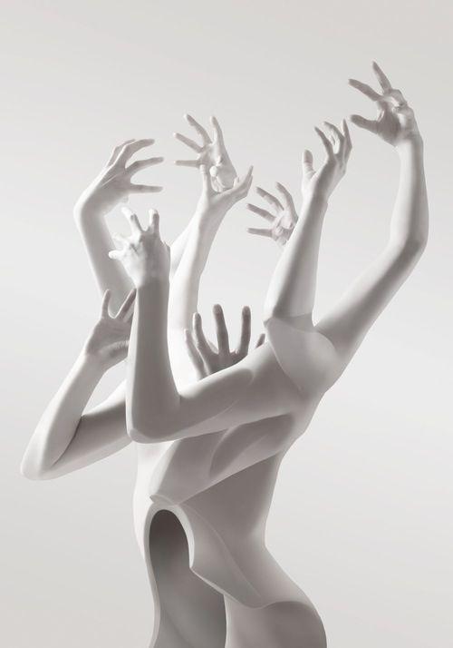 Multi Hand/Arm Headless Mannequin