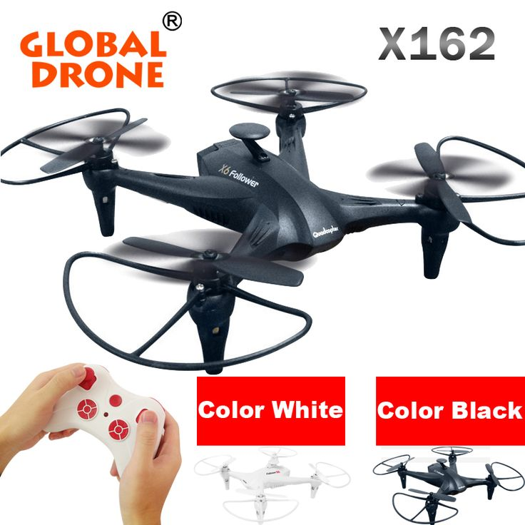 Grobal Drone X162 2.4G 6-axis Gyro 3D Rolling Headless Dron Remote Control Quadcopter RC Drones RTF Drone RC Drones Quadcopters