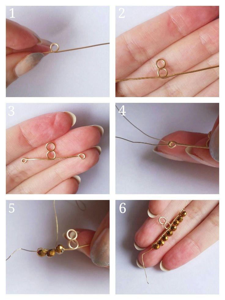 DIY Ear Jacket Earrings