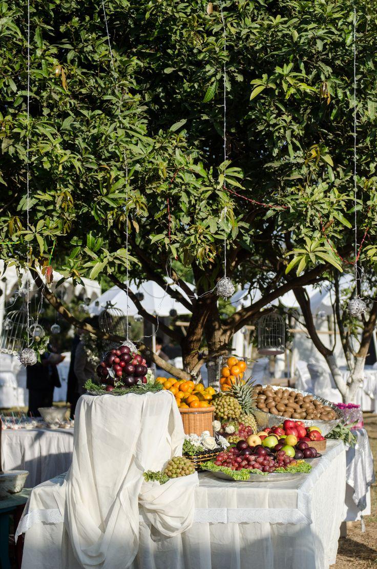 The fruit area...