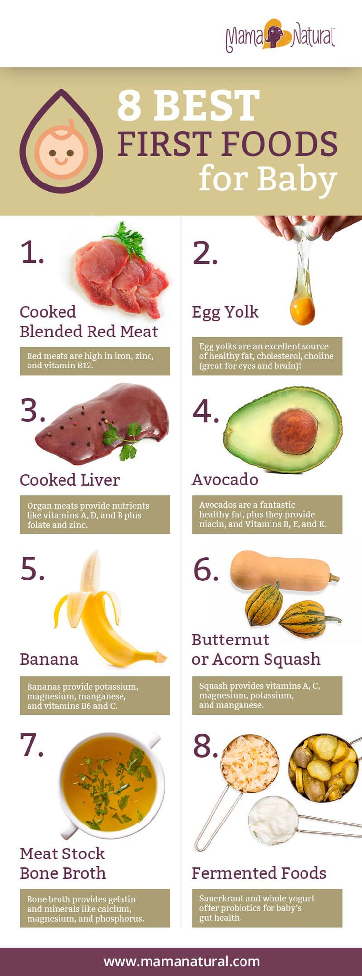 Best Foods To Start Weaning