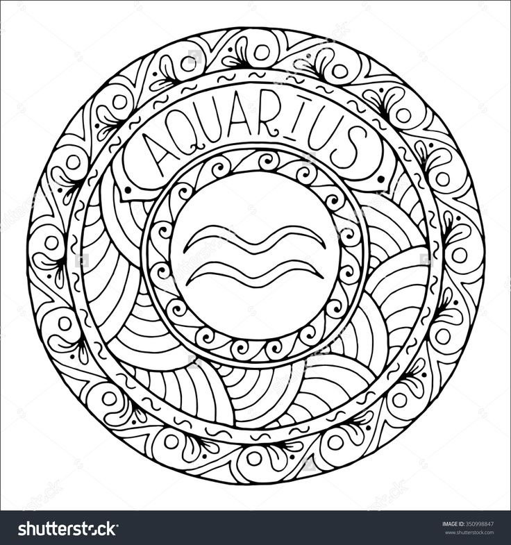 350 best Adult ColouringZodiac Signs images on Pinterest