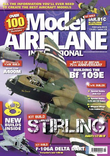 Model Airplane International #115 - February 2015