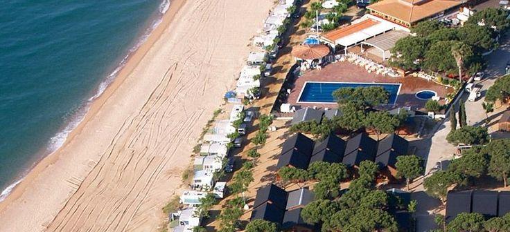 Camping & Bungalows Bon Repòs ☼☼☼, bungalows Bon Repòs, Santa Susanna (Barcelona, Catalogne)