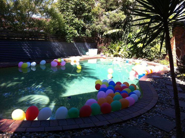 My pool in summer