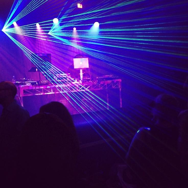 The Herbaliser DJing