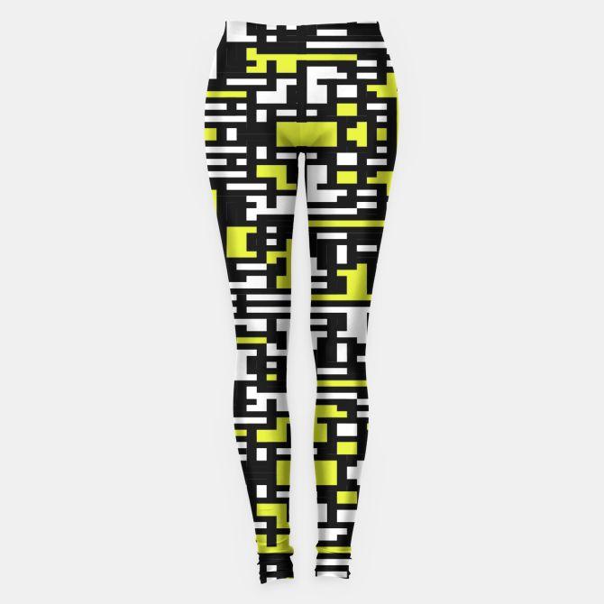 Pixelated Pattern Leggings