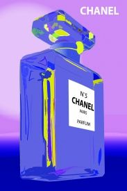 Chanel bottle from the Block