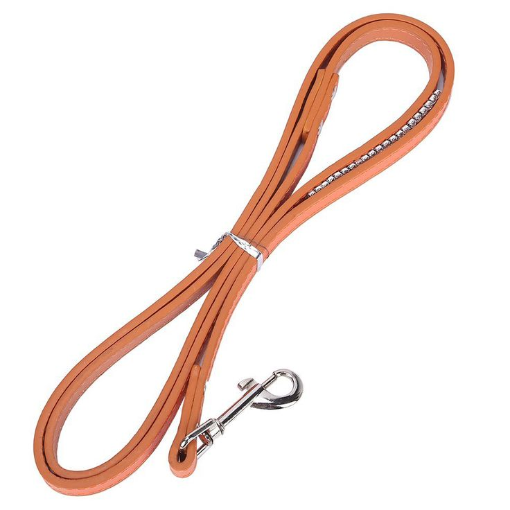 120CM PU Leather Braided Harness Lead Leash Traction Rope Dog Safety Rope Chain for Puppy Dog Pet 4 Colors
