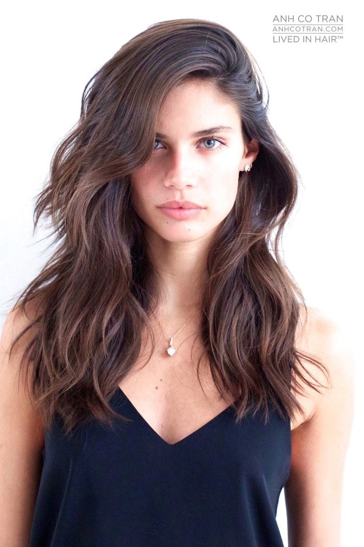 Magnificent 1000 Ideas About Brunette Haircut On Pinterest Haircuts Bangs Short Hairstyles For Black Women Fulllsitofus