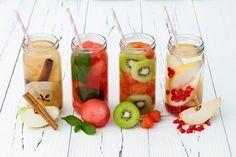 Bild der Frau -  Ohne Trinken funktioniert unser Körper nicht. Nicht nur alte Menschen und Kinder vergessen das ausreichende Trinken, auch Erwachsene im Büro. Mit diesem Fruchtwasser ist es gar nicht schwer ans Trinken zu denken.