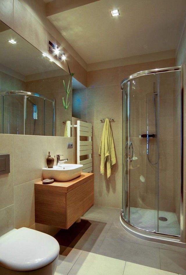 eckduschkabine modernes bad holz waschtisch unterschrank