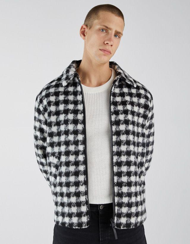 Cazadoras De Hombre Otoño Invierno 2018 Bershka Moda Tendencias De Moda Chaquetas