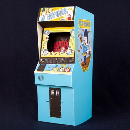 Enter the world of Niceland by creating this awesome mini Fix-It Felix, Jr. arcade game.