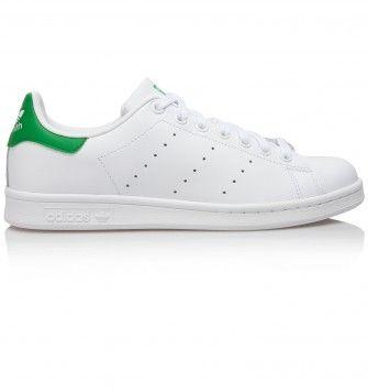 ADIDAS STAN SMITH. White / Green. £65.00
