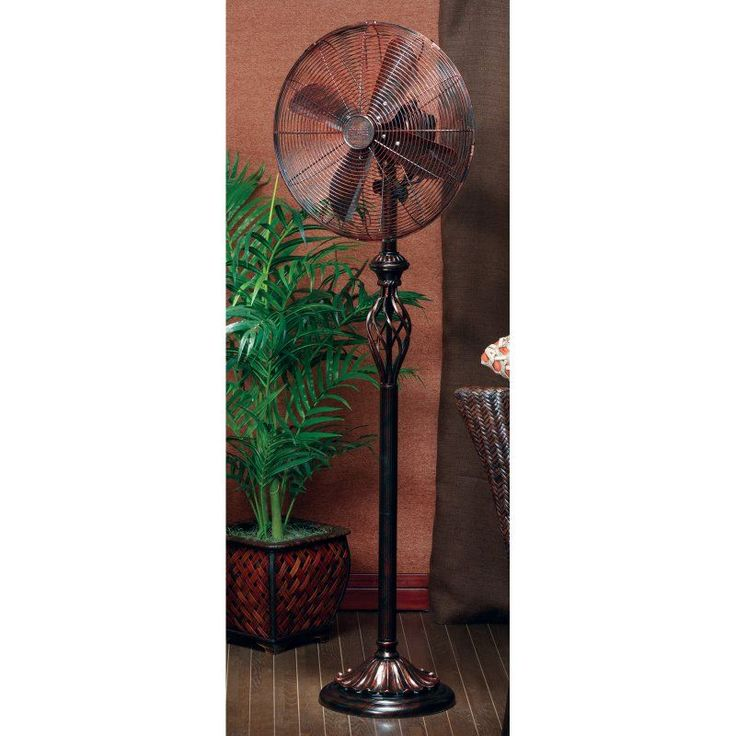 Deco Breeze Floor Standing Fan - Rustica - DBF0502