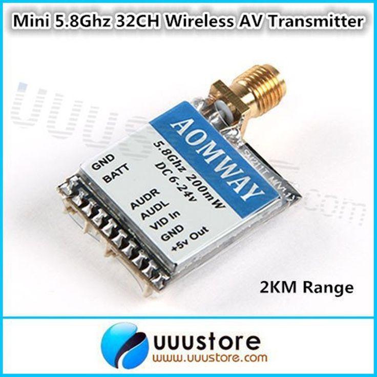 $22.00 (Buy here: https://alitems.com/g/1e8d114494ebda23ff8b16525dc3e8/?i=5&ulp=https%3A%2F%2Fwww.aliexpress.com%2Fitem%2FAomway-5-8Ghz-200mW-32CH-Audio-Video-AV-Transmitter-TX-Module-for-FPV%2F2007715241.html ) Aomway 5.8G 5.8Ghz 200mW 32CH Audio/Video AV Transmitter (TX) Module for FPV QAV210 ZMR250 DJI Quadcopter  for just $22.00