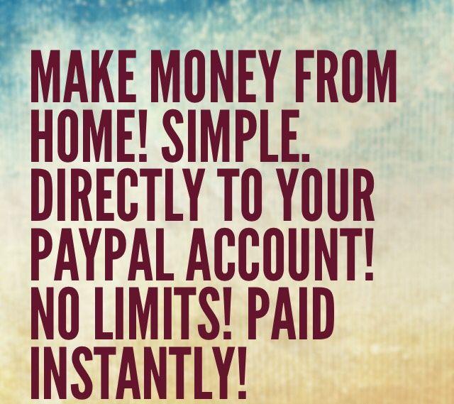 Work from home Money Hustle Online Internet Fast money Jobs