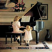 Piano Art - Dress Rehearsal by Greg Olsen