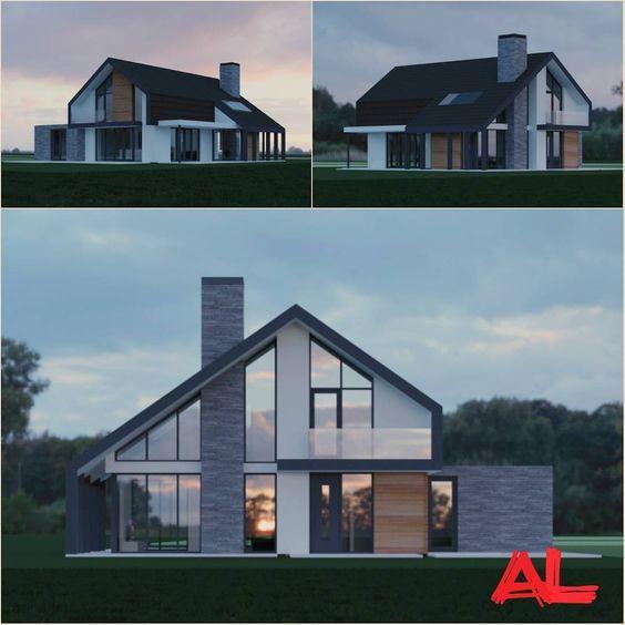25 beste idee n over moderne architectuur woning op pinterest moderne architectuur moderne - Moderne huis op een helling ...