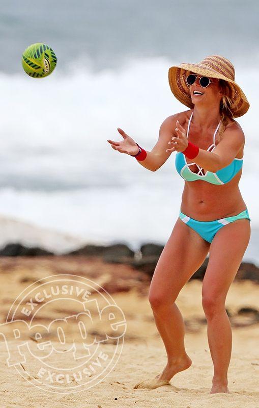 Britney Spears' best neon bikinis