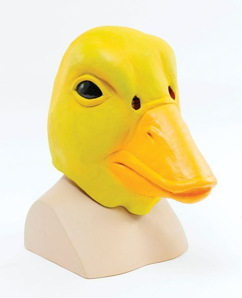 Duck Mask (Rubber Masks) - Unisex - One Size