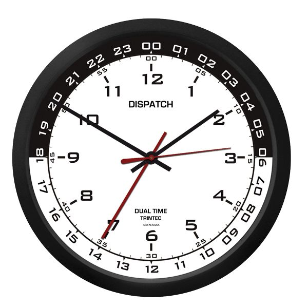 17 best images about gifts for aviators on pinterest for Dual time wall clock