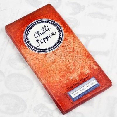 Chilli Pepper Organic Dark Chocolate Artisan Bar