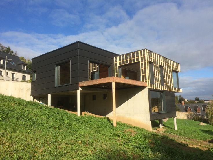Maison Ossature Bois Rouen wwwpesqueux-charpentefr MAISONS BOIS - faire extension maison pas chere