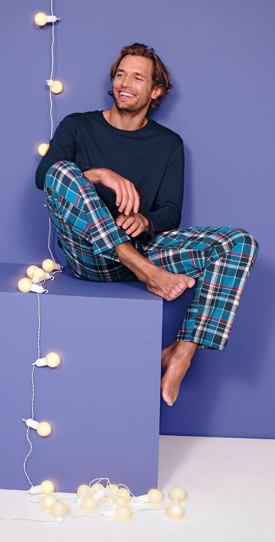 Pijama Mens Check