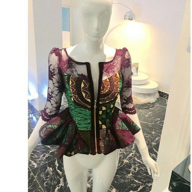 Ankara Styles Peplum For Beautiful Ladies Ankara Styles