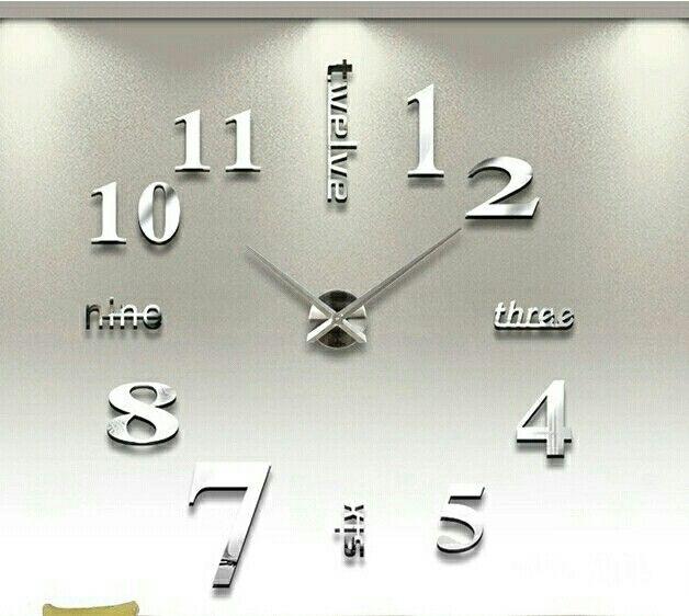 Iso,peilipintainen DIY seinäkello. Tällä kellolla saat näyttävyyttä esim.olohuoneen seinälle. Nyt saatavana verkkokaupasta! www.pinkkivirtahepo.fi