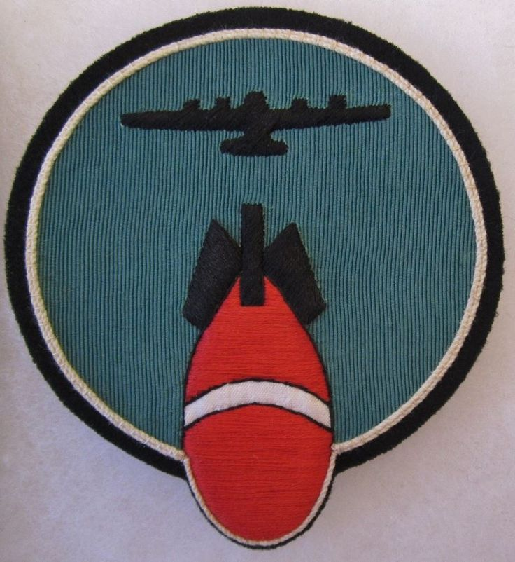 316th BOMB SQUADRON AIR FORCE POCKET PATCH Custom Hand Made for USAF VETERANS