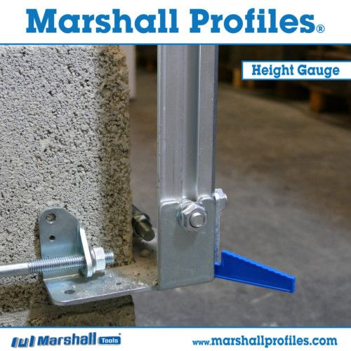 Use the new plastic Height Gauges while locking the Profiles into position to set the Profile height with MM Precision and ultimate efficiency.