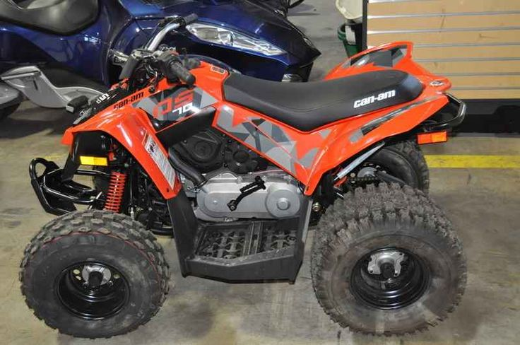 New 2017 Can-Am DS 70 ATVs For Sale in Minnesota. 2017 Can-Am DS 70, 2017 Can-Am® DS 70 THERE IS NO NEED TO WORRY ABOUT SHIFTING GEARS. We take great pride in making sure young riders have the best vehicles to practice their off-road skills. Complete with neutral, reverse lights and a built-in throttle limiter, young riders get an authentic riding experience and parents have control. Features may include: 4-STROKE SINGLE CYCLINDER ENGINE EASY-TO-MAINTAIN The 4-stroke engine design makes it…