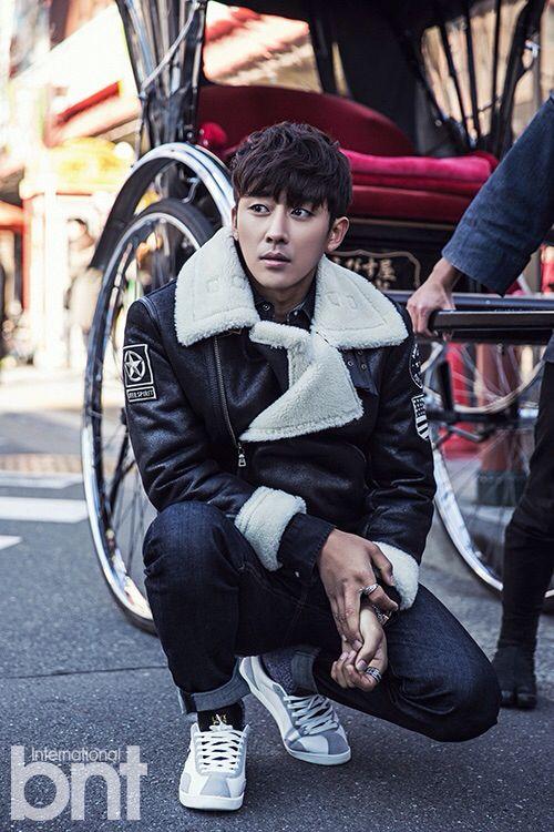 Son Ho Joon for Bnt International magazine January Issue '15