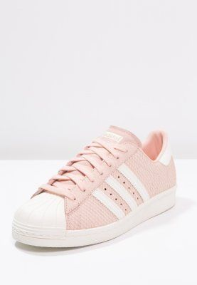 adidas Originals SUPERSTAR 80S - Sneaker low - blush pink/offwhite - Zalando.de