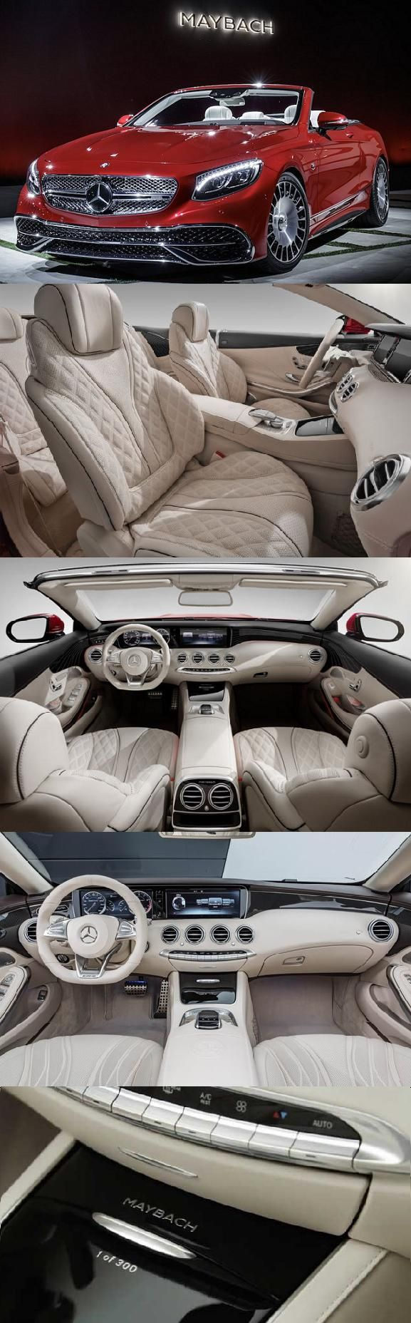 2017 Mercedes Maybach S650 with the price of $337000 is one of the most expensive cars. #mostexpensivecars